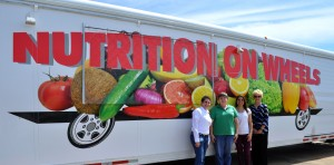 Nutrition on Wheels truck complete! Rolling through Central LA soon.