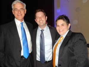 The BCBSLA Foundation team: Dr. Richard Atkins, board chairman, Michael Tipton, president, and Lydia Martin, strategic initiatives manager.